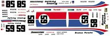 #59 OR #58 BRUMOS PORSCHE IMSA 1/43rd Scale Decal Great for Slot Car