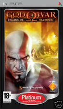 Videogame Platinum God Of War - Chains of Olympus PSP