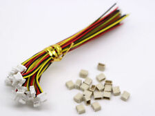 SH JST 1.0 3-Pin Mini Micro Connector with Wires Cables 100MM x 20 Sets