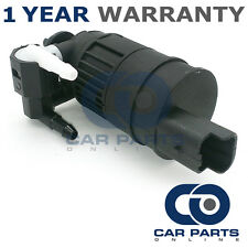 FOR RENAULT CLIO MK2 (1998-2005) FRONT & REAR TWIN OUTLET WINDSCREEN WASHER PUMP