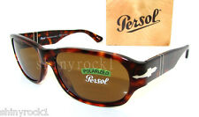 Authentic PERSOL Polarized Tortoise Sunglass PO 3068 - 24/57 - 60mm  *NEW*