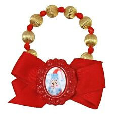 "NEW Tarina Tarantino Santa Claus ""HOME FOR CHRISTMAS"" Bow Bracelet -40% OFF"