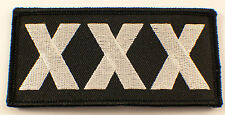 Tripple X Xxx Rated Motorcycle Uniform Patch Biker