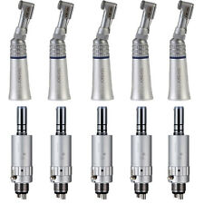 10PCS Dental Slow Low Speed Contra Angle Handpiece E-Type Air Motor 2/4 Hole YP