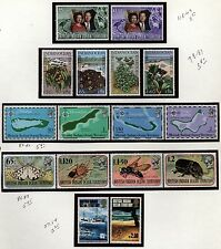 British Indian Ocean Territory Topical collection  mint NH