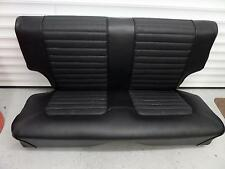 MK1 Escort Mexico BDA Twin Cam Vinyl Rear Seat Cover Original Ford Basket Weave