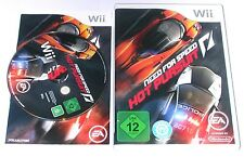 "Nintendo WII Gioco ""Need for Speed Hot Pursuit"" COMPLETO"