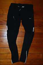 Women's Nike DriFit Reflective Running Compression Pants (Medium)