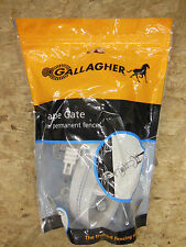 "Gallagher ELECTRIC FENCE 1 1/2"" TAPE GATE - Livestock Horses NEW"