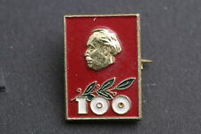 Bulgaria Bulgarian 100 Year Georgi Dimitrov 1882 1982 Badge Pin Communist