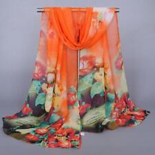 Fashion Women Long Soft Wrap scarf Ladies Shawl Chiffon Scarf Scarves
