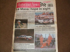 Motoring News 7 February 1990 Wyedean Rally Daytona 24 Report CART F3000 Review
