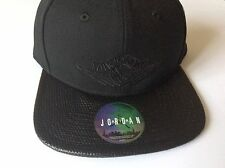 Nike Air Jordan SNAPBACK Cap Black. Adult