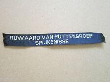 Ruwaard Van Puttengroep Scout Group Troop Name Tape Badge Boy Scouts Scouting