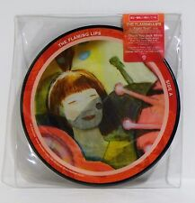 "THE FLAMING LIPS Fight Test 7"" VINYL PICTURE DISC Single 45rpm NEW Numbered"