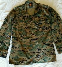 USMC Woodland Digital Marine Pattern (MarPat) PROPPER Camouflage Uniform Sm Reg
