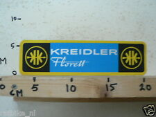 STICKER,DECAL VINTAGE KREIDLER FLORETT MOTORCYCLE MOPED MOFA B