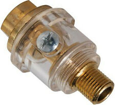 "Mini In-Line Oiler Air Hose Lubrication Air Tools BRASS Male Female 1/4"" U279"