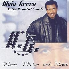 Alvin Green & The Unlimited Sounds  - Words Wisdom & Music (CD, 2003)  New