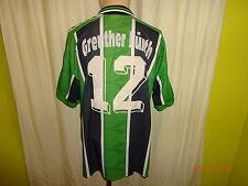 "SpVgg Greuther Fürth PUMA Matchworn Trikot 1996/97 ""Dobler"" + N. 12 Taglia L"