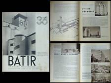 BATIR N°36 1935 ARCHITECTURE INDUSTRIELLE, MAURICE HOUYOUX, USINES REMY WYGMAEL