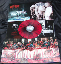 Belphegor - The Last Supper ++ SPLATTER LP, lim.150 ++ NEU !!