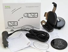 Genuine HTC EVO 4G Cell Phone Car Upgrade Kit Dock Mount +Car Charger NEW IN BOX