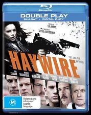 Haywire (Blu-ray + digital copy, 2012, 2-Disc Set)