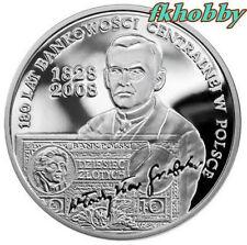Poland 2009 silver 10 zl 180 lat Bankowości Centralnej
