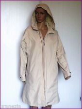 Impermeable AIGLE Beige Capuche Amovible Taille 42 TBE
