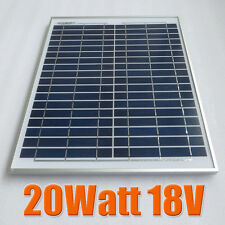 20W 18V Polycrystalline silicon Solar Panel moudle used for 12V battery