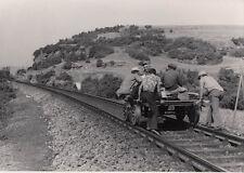 ORIG. FOTO TCDD KLEINFAHRZEUG HISARÖNÜ 1974 (AF108)