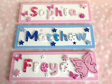 CHILDREN KIDS NAME SIGN Personalised Bedroom Door/Wall PLAQUE Christmas Gift