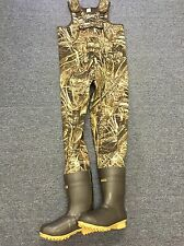 Pro Guide Realtree Max-5 Camo Neoprene Hunting Wader Lug Size 10 Reg 1200 Gram
