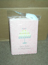 Lot of 180 Bridal Shower Invitations New Marriage Bride American Greeting Cards