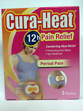 CURA-HEAT PAIN RELIEF PERIOD PAIN - 3 PATCHES