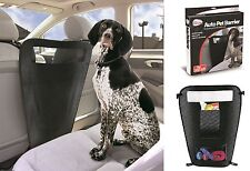 Pet Parade Auto Pet Barrier Keeps Your Pet Safe Adjustable Pet Car Safety