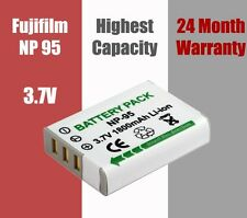 NP-95 NP95 Battery Fujifilm Finepix X100 F30 F31fd Real 3D W1 2 Year Warranty