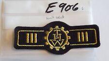 Thw insigne pays porte-parole Golden avec velcro (e906)