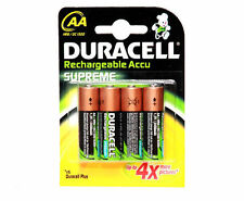 6x DURACELL AA RECHARGEABLE BATTERIES 2450 mAh 2450mAh 1.2V NiMH NEW SEALED PACK