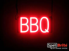 SpellBrite Ultra-Bright BBQ Sign Neon-LED Sign (Neon look, LED performance)