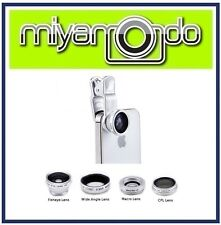 4 in 1 Lens Filter (Silver) For Smartphone Mobile Phone