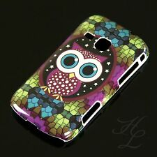 Samsung Galaxy Mini 2 S6500 Hard Case Handy Hülle Etui Cover Große Eule Owl