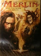 MERLIN and the BOOK of BEASTS (2009) James Callis Laura Harris Jesse Moss SEALED