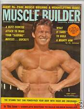 Muscle Builder Bodybuilding Mr Olympia Larry Scott /Chuck Sipes 12-62