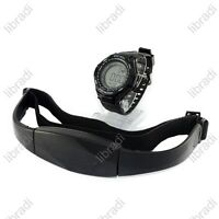 Heart Rate Monitor Backlight Sports Watch Stopwatch Alarm Clock+Chest Belt 02
