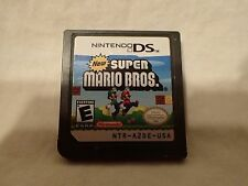 New Super Mario Bros. (Nintendo DS) Cart only, tested, fast shipping