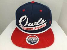 Florida Atlantic Owls NCAA Retro Vintage  Snapback Cap Hat New Zephyr