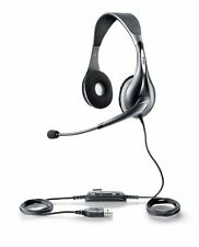 Jabra UC VOICE 150 MS Duo Lync Optimized Corded Headset for Softphone