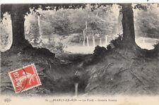 MARLY-LE-ROI 82 la forêt grande source timbrée